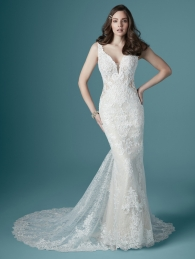 Long Bridal Gown