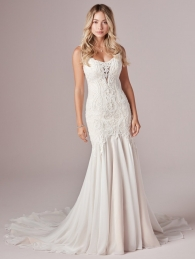 Sleevsless Bridal Dress