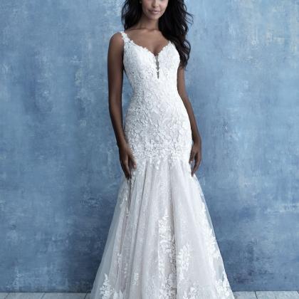 A-Line Bridal dress