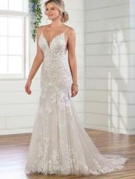 Classic A- Line wedding dress